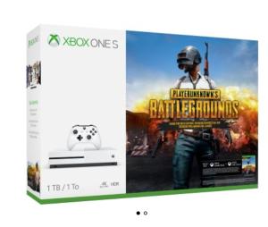 $319Xbox One S 1TB + PUBG 游戏套装