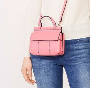 Last Day!Up to 30% Off Pink Handbags Sale @ Tory Burch