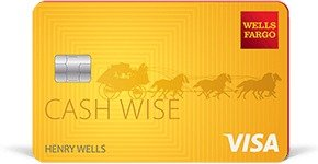 Earn a $200 cash rewards bonus Wells Fargo Cash Wise Visa® Card
