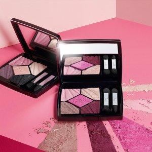 """$63+免税+包邮上新:Dior 2018年春季新款""""粉诱春光""""系列眼影盘上新"""