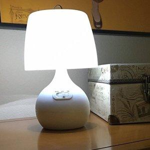 $16Light It! By Fulcrum LED Wireless Motion Sensor Table Lamp, White