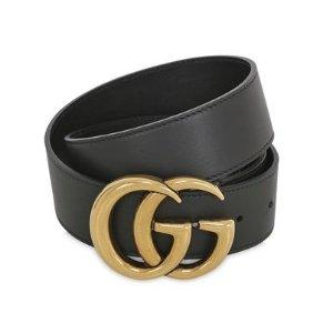 $405 (原价$450)+包邮包税手慢无:Gucci 经典皮带热卖 仅此处打折