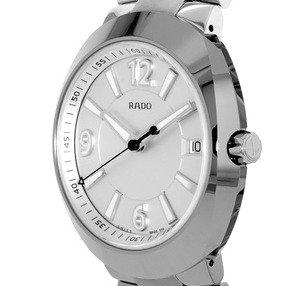 $375.20 (原价$1395) 国内公价¥9300史低价:Rado D-Star 帝星系列高科技精钢陶瓷时装男表