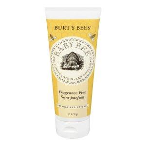 $6.95(原价$12.99)Burt's Bees 天然婴儿润肤露170克