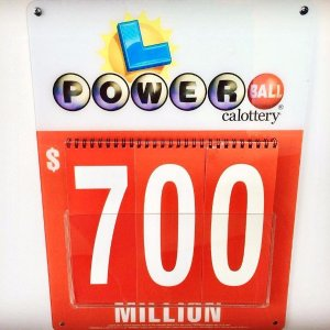 now $700 millionThe Powerball jackpot increases