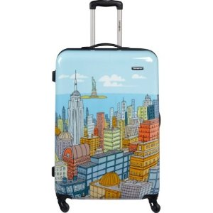$71Samsonite Luggage NYC Cityscapes Spinner 20