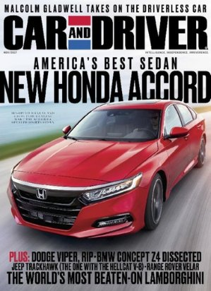 $124 Yr Car and Driver Magazine Subscriptions