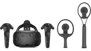 $598HTC VIVE Virtual Reality System + Racket Sports Set with Tracker
