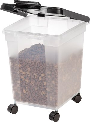 $11 IRIS Nesting Airtight Pet Food Container, Large
