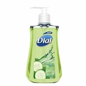 $1.03 Dial Liquid Hand Soap, Cucumber & Mint, 7.5 Fluid Ounces