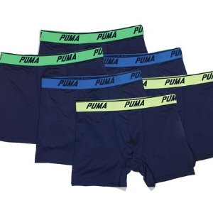 $21Puma Volume Tech Boxer Briefs 6-Pack