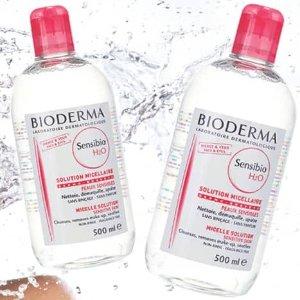 $14.9 (原价$19.90)法国贝德玛BIODERMA 舒颜洁肤液卸妆水 500ml