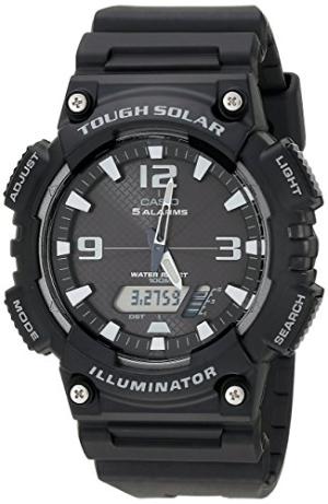 $20 (原价$54.95)Casio 男士 太阳能 运动腕表