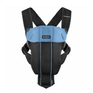$29BabyBjorn Baby Carrier Original - Black / Light Blue