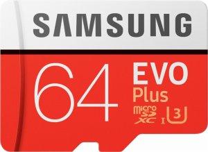 $19Samsung EVO Plus 64GB microSDXC U3 Memory Card