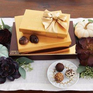 低至6.5折Dealmoon双12独家:Godiva官网 精选巧克力礼盒优惠促销