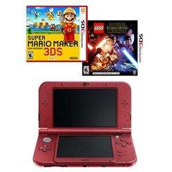 $109Nintendo NEW 3DS XL Refurbished + 2 Games