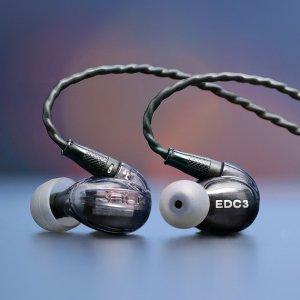 $99.99 (原价$199.99)Massdrop x NuForce EDC3 入耳式 动铁 监听耳机