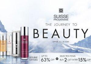 Up To 63% OffSuisse Sale @ Sasa.com