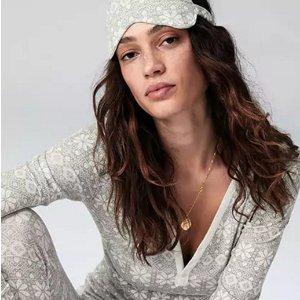 Extra 50% Off + Extra 10% Off + Gap CashSleepwear @ Gap