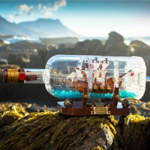 $69.99Ship in a Bottle 21313 @ LEGO