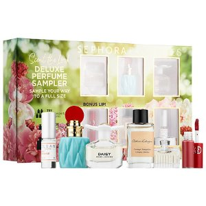 $65.00 ($128.00 value) SEPHORA FAVORITES Scent the Look Deluxe Perfume Sampler