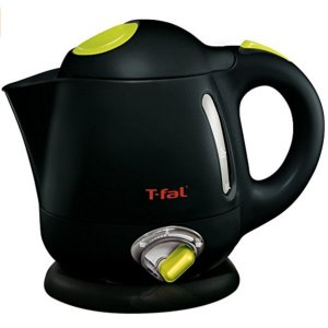 $23.99T-fal BF6138 Balanced Living 1-Liter 1750-Watt Electric Mini Kettle with Variable Temperature, Black