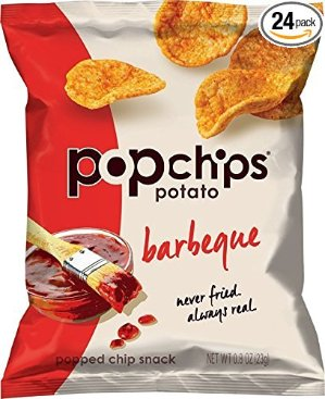 $15.31Popchips 烧烤味薯片 0.8盎司 24包
