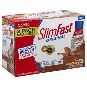 $29.61 (原价$38.91)Slim Fast 最健康的快速瘦身、减肥代餐奶昔粉
