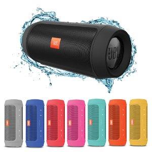 $64JBL Charge 2+ Splashproof Bluetooth Speaker Recertified
