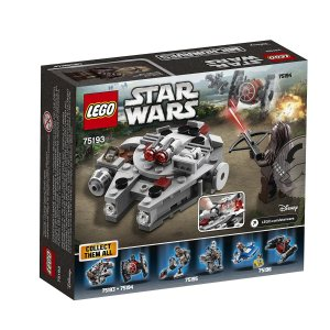 $9.49 LEGO Star Wars Millennium Falcon Microfighter 75193 Building Kit (92 Piece)