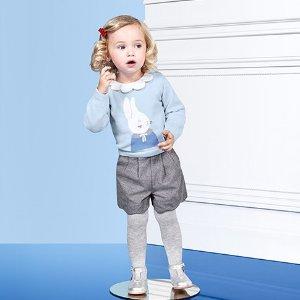 再降 低至5折+额外8折最后一天:Jacadi 官网 高品质童装 冬日大促折上折