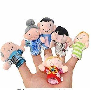 $9.99($14.89, 26% off)闪购:Super Value 家庭手指玩偶  和宝宝一起玩游戏吧~