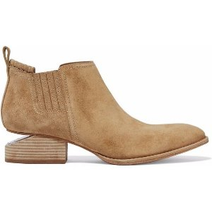 $275Alexander Wang Kori suede ankle @ THE OUTNET
