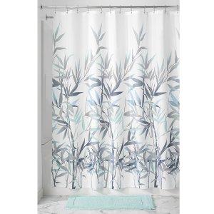 $6InterDesign Anzu Fabric Shower Curtain, 72