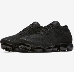 $189.99 + Free Shipping Nike Men's Triple Black Air Vapormax Flyknit @ East Bay