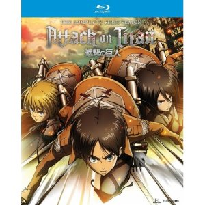 $21Attack on Titan: The Complete Season One [Blu-ray] [4 Discs]