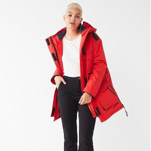 $59.99 (原价$179)UO Up North Parka 女士保暖大衣超值热卖