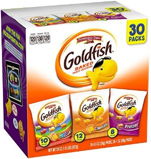 $6.63Pepperidge Farm Goldfish Variety Pack Bold Mix, (Box of 30 bags)