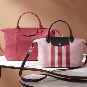 最高减$275 经典款,超实用Longchamp 珑骧包包热卖 入高圆圆款小羊皮包