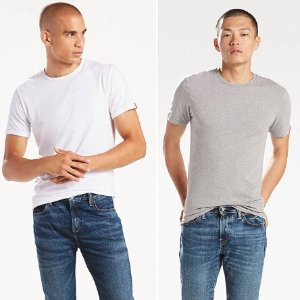 $10Levis 男款T恤两件套