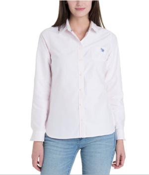 $12Women's Oxford Shirt @ US polo Assn