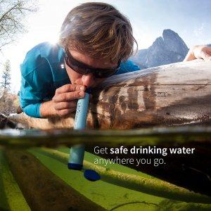 低至65折Lifestraw 便携饮水过滤吸管、水杯热卖