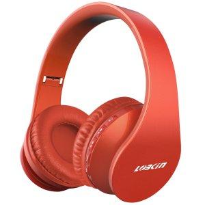 $9.99 (原价$28.99) 手慢无!逆天价:Lobkin 四合一升级版 可折叠无线蓝牙 头戴式耳机