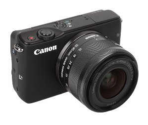 $249Canon M10 Camera w/ 15-45mm IS STM Lens & Mount Adapter Refurbished