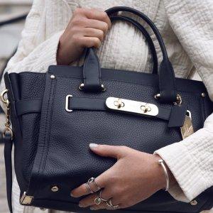 低至5折 + 免邮上新:Coach官网 Swagger美包促销 当家花旦就是它