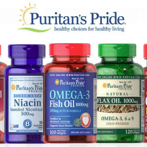 买2送3+额外8折Puritan's Pride官网 热卖保健品促销 2日闪购
