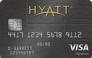 Receive a free night award every year after your cardmember anniversary at any Category 1-4 Hyatt hotel or resort. The Hyatt Credit Card