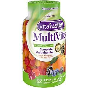 $2.79Vitafusion  水果味综合维生素软糖 150粒