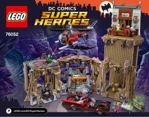 $188.99LEGO《1966 影集版蝙蝠俠》蝙蝠洞 76052
